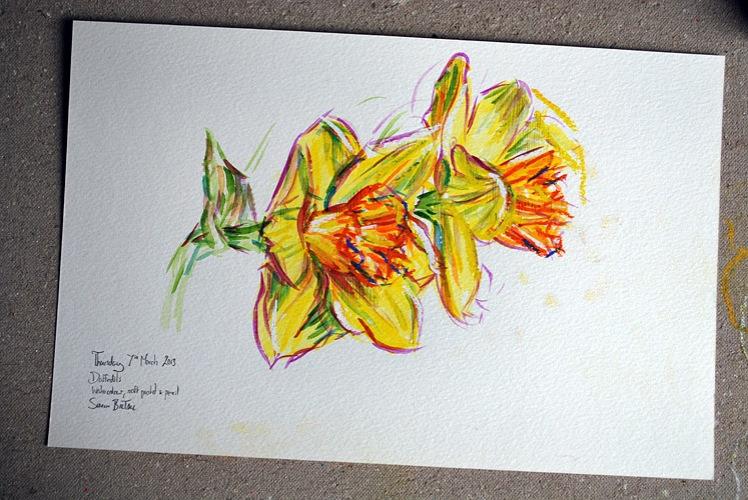 Daffodils artwork
