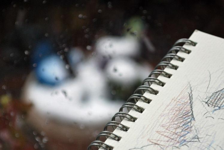 Drawing snowfall