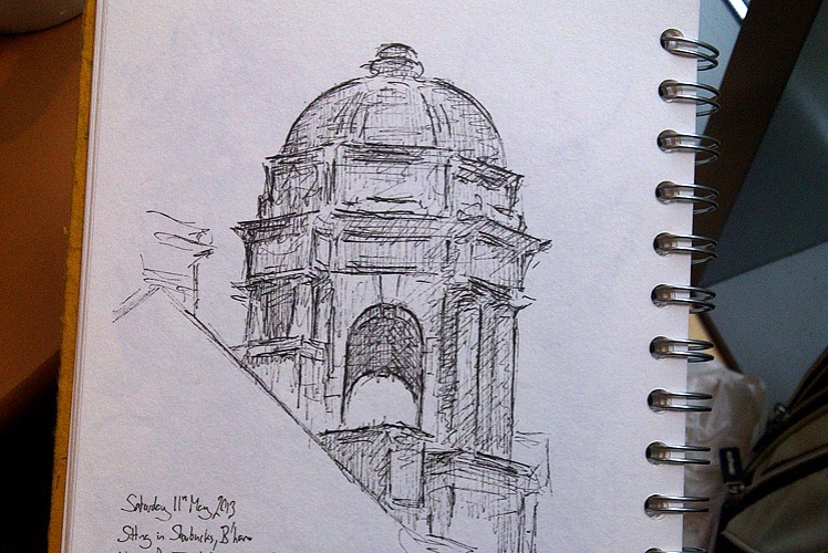 Drawing of Birmingham