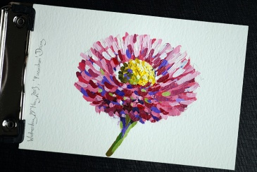 Pincushion Daisy by Simon Birtall