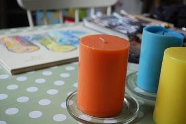 Sketching candles