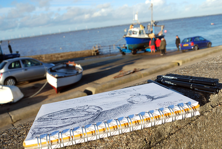 Drawing at Meols