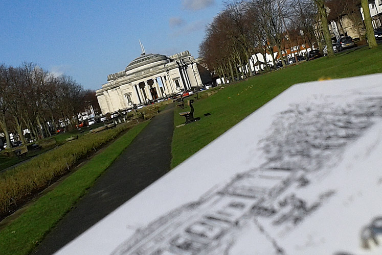 Drawing the Lady Lever Art Gallery