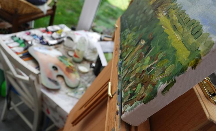 Painting session - Storeton