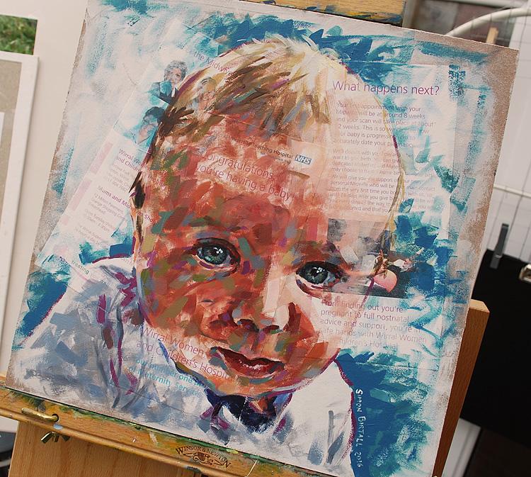 Portrait of our Son