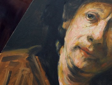 Copy of a Rembrandt Self Portrait
